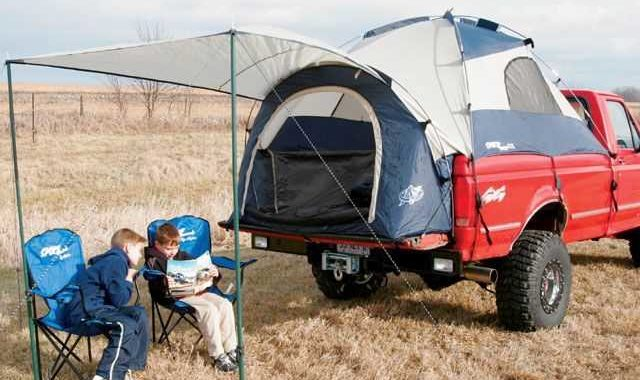 Camping – The Truck Bed Tent Camping!