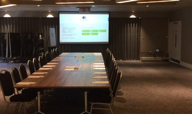 Rented Meeting Room